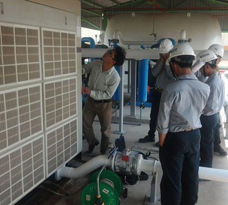 Kiểm tra máy nén khí thường xuyên
