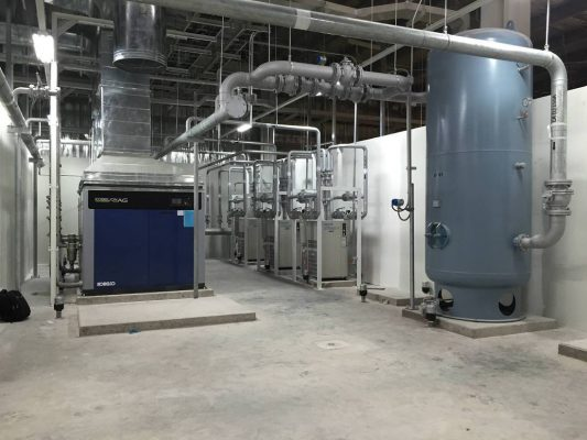 Điều chỉnh rơ- le áp suất máy nén khí trước khi sử dụng