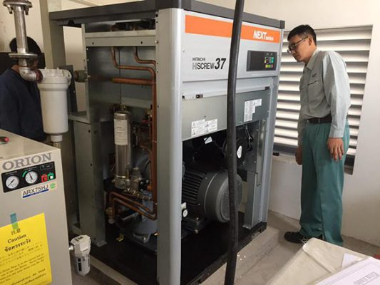 Dịch vụ bảo dưỡng máy nén khí tại Hà Nội