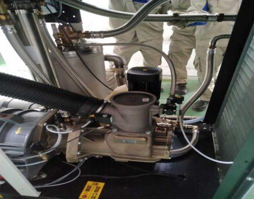 Công ty bảo dưỡng máy nén khí dùng trong thực phẩm y tế sản xuất dược liệu