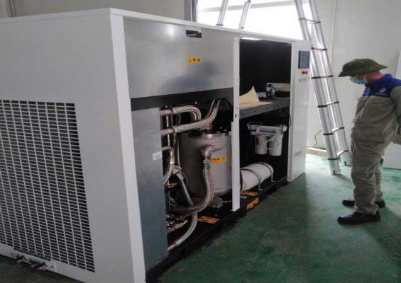 sửa chữa máy nén khí trục vít tại miền bắc
