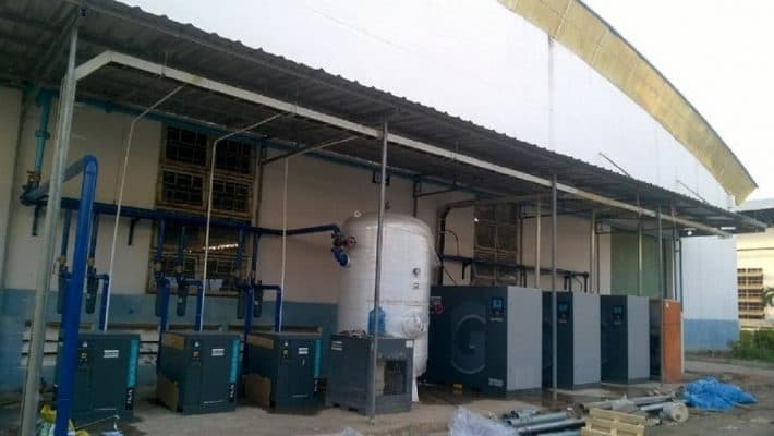 Bán máy nén khí trục vít mới tại miền bắc
