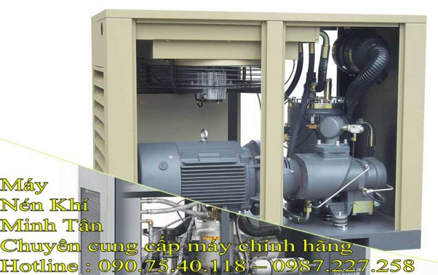 Máy nén khí dùng để làm gì