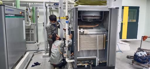 Quy trình bảo dưỡng máy nén khí tại Bắc Giang