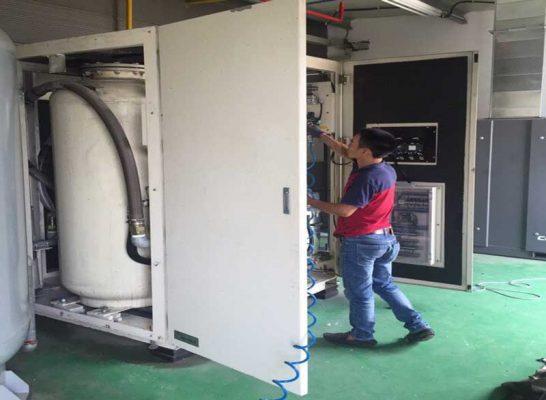 Sửa chữa máy tạo khí nito tại Hà Nội
