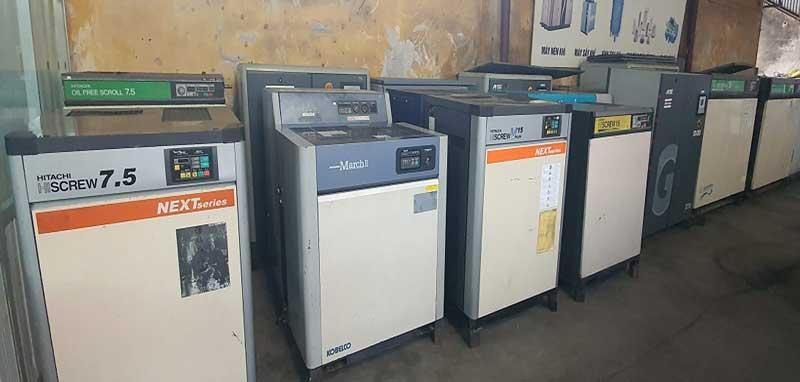 Mua bán máy nén khí cũ mới chính hãng tại Vĩnh Phúc