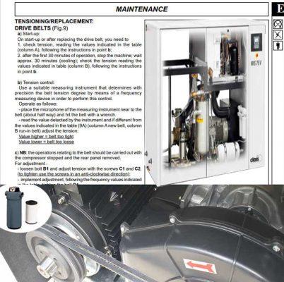 Dịch vụ bảo dưỡng máy nén khí tại cao bằng chính hãng