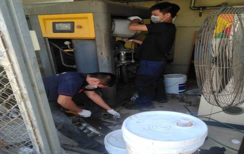 Công ty bảo dưỡng máy nén khí tại Bá Thiện
