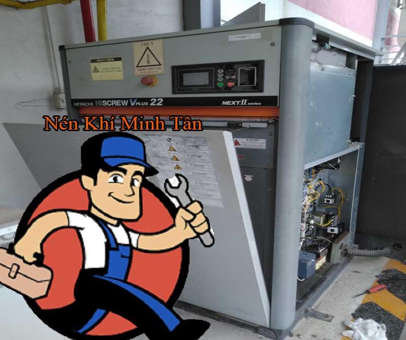 Bảo dưỡng sửa chữa máy nén khí tại khu công nghiệp Khai Quang