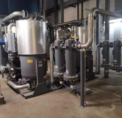 Lắp đặt hệ thống lọc đường ống cho máy nén khí Bình Xuyên