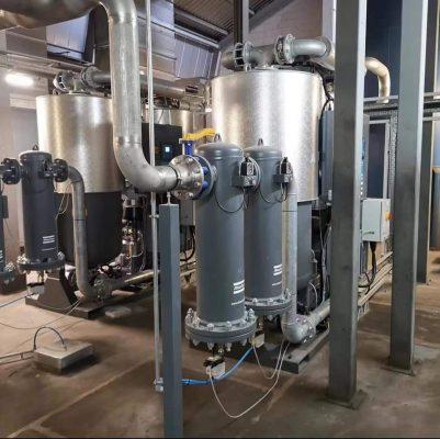 Hệ thống lọc đường ống cho máy nén khí tại Bình Xuyên