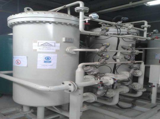 Lắp đặt hệ thống máy nito tại khu công nghiệp Bình Xuyên
