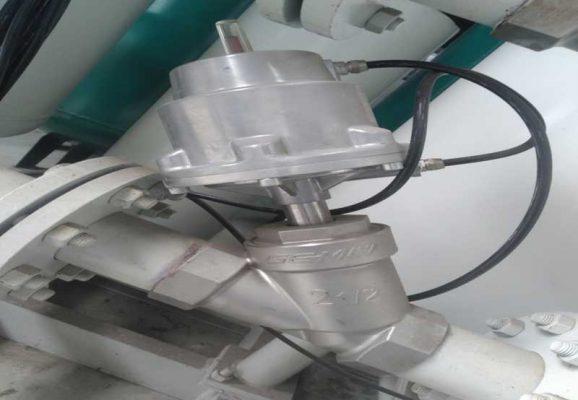Hệ thống máy nito được lắp đặt tại Bình Xuyên