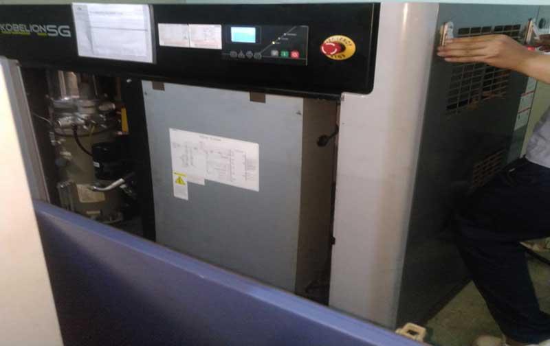 Quy trình sửa chữa máy nén khí tại Bá Thiện