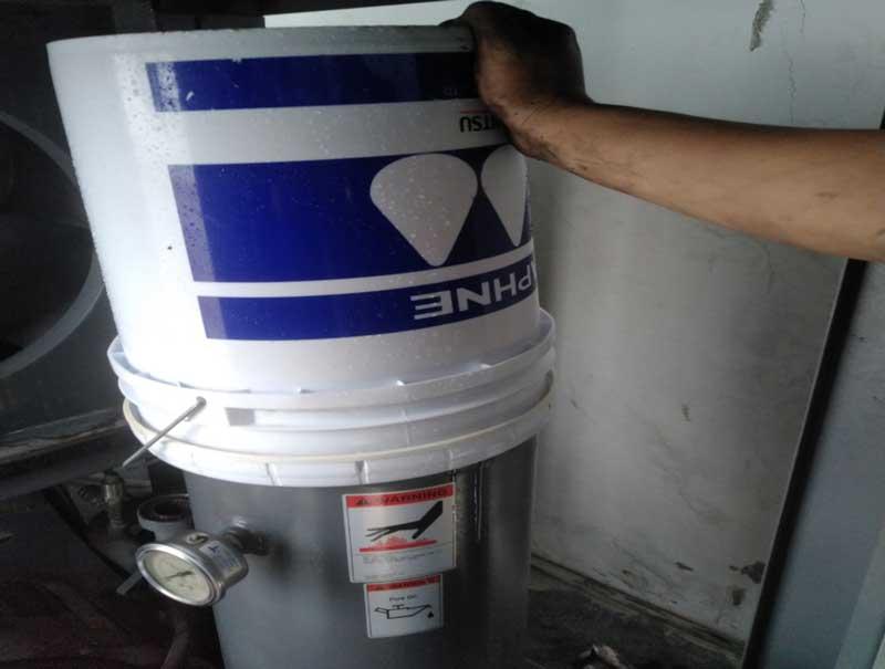 Bảo dưỡng thay thế phụ tùng máy nén khí tại Thăng Long 3