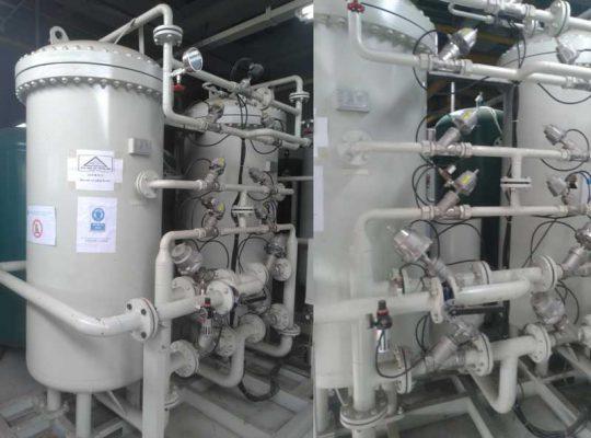 Lắp đặt hệ thống máy nén khí nito tại Thăng Long 3