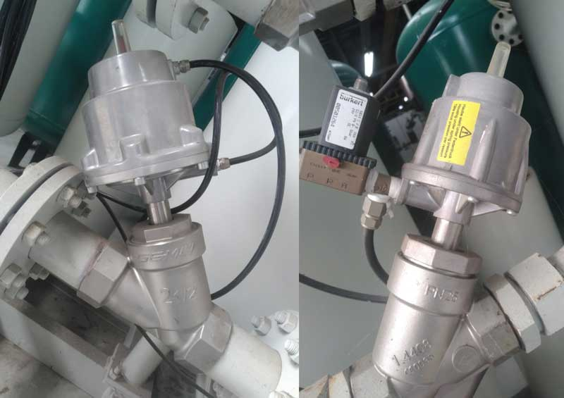 Chi tiết hệ thống máy nén khí nito tại Thăng Long 3