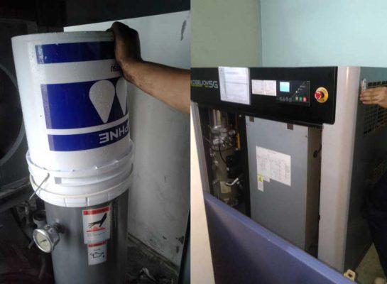 Bảo dưỡng máy nén khí giá rẻ tại Thăng Long 3