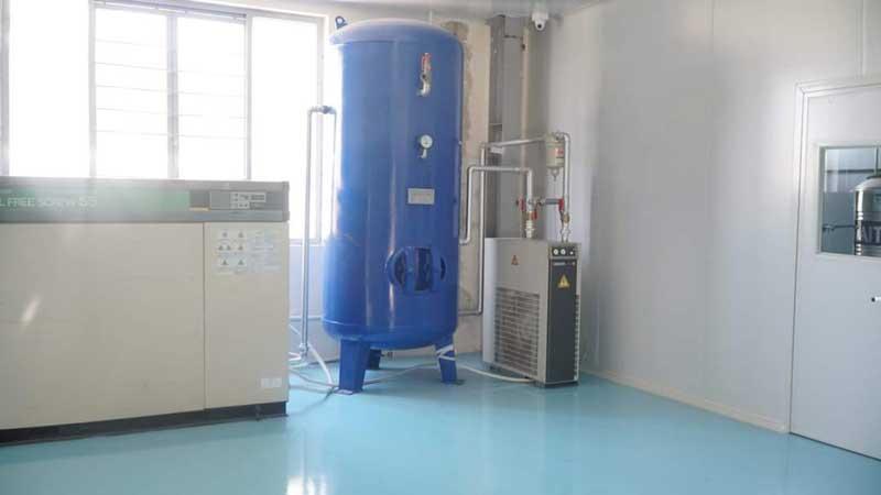 Hệ thống máy nén khí sạch tại Thăng Long 3