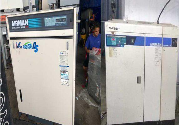 Mua máy nén khí cũ mới tại khu công nghiệp Khai Quang
