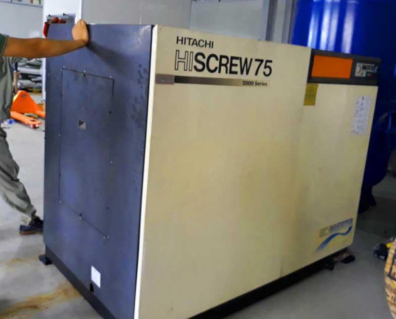 Tiêu chuẩn chọn máy nén khí cũ tại khu công nghiệp thăng Long 3