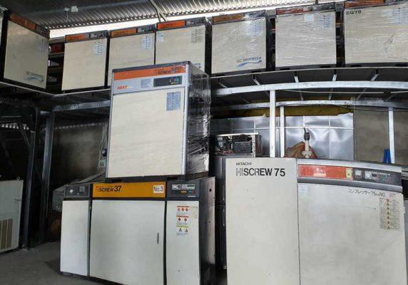 Mua bán máy nén khí cũ mới tại Khu công nghiệp Thăng Long 3